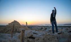 První den při zdolání vrcholu Šeli pevnosti