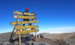 Uhuru peak Mt. Kilimanjaro Africa