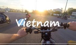 Vietnam motorkou