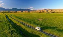 Buchanka v Kyrgyzstane