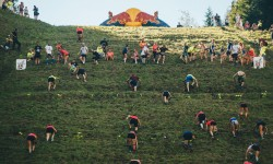 Participants perform at Red Bull 400 in ?trbsk� Pleso, Slovakia on August 22, 2020 // Matus Zetak / Red Bull Content Pool // SI202008240354 // Usage for editorial use only //