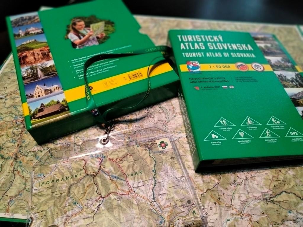 Turistický atlas Slovenska II.vydanie - samostatne vyberateľné listy